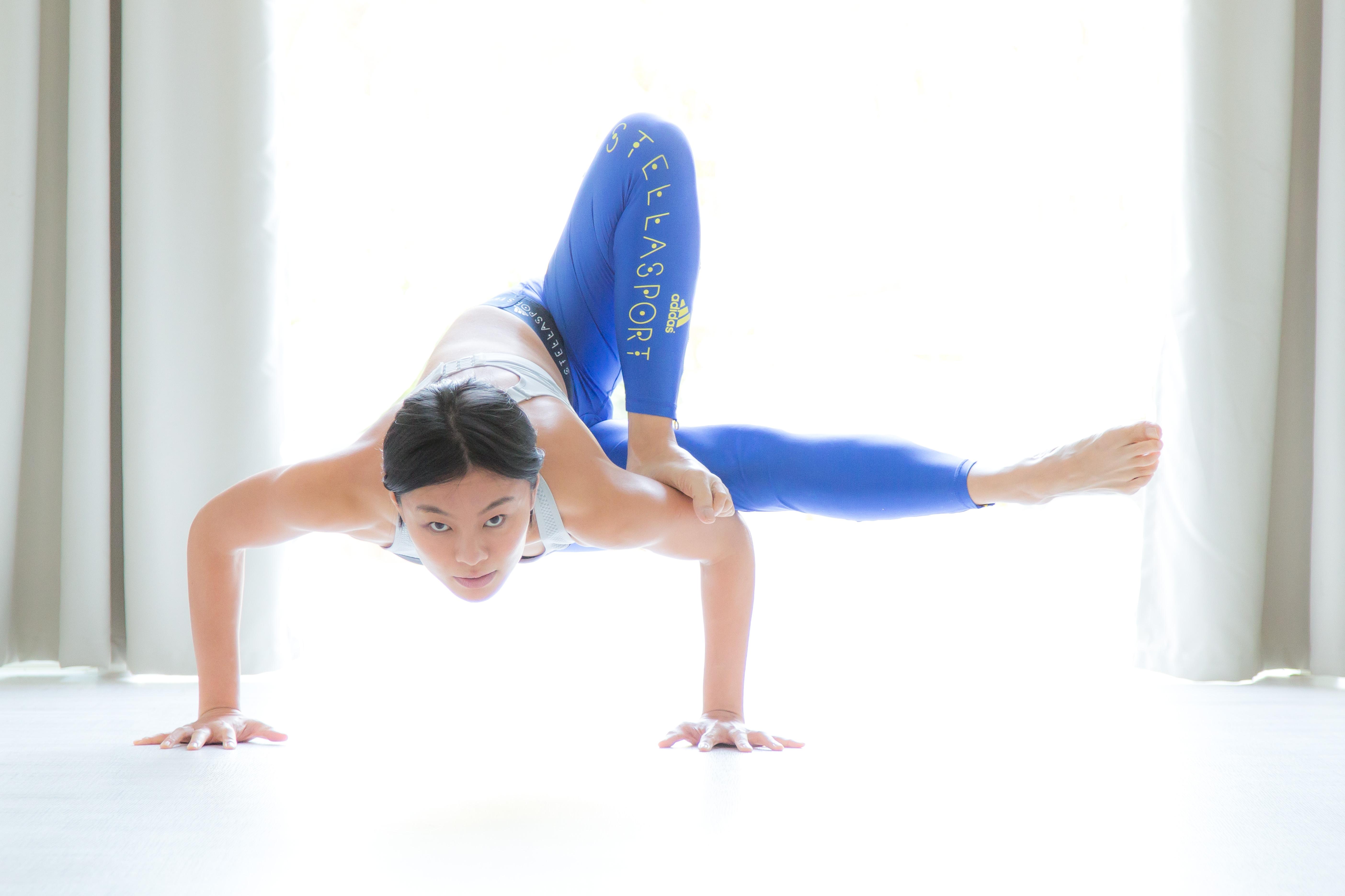 YogaUP, Chaukei yoga pose
